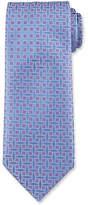 Charvet Box-Print Silk Tie