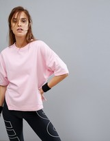 Nike Training Dry Short Sleeve Top In Pink