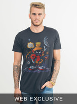 Junk Food Clothing Marvin The Martian Tee-bkwa-l