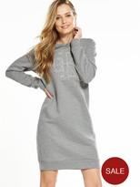 Calvin Klein Jeans Dalis True Icon Dress - Light Grey Heather