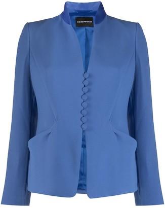 Emporio Armani Tailored Crepe Blazer
