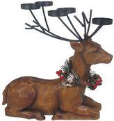 St. Nicholas Square® Christmas Sitting Lodge Deer Tealight Candle Holder
