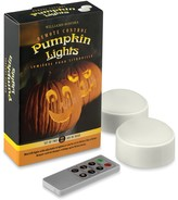 Williams-Sonoma Remote Control Pumpkin Lights, Set of 2