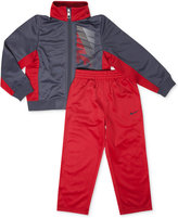 Nike 2-Pc. Tricot Warm-Up Jacket & Pants, Little Boys (2-7)