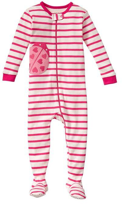 Gap Ladybug footed one-piece