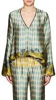 Giada Forte Women's Multi-Print Silk Blouse