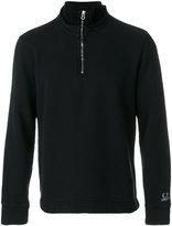 C.P. Company polo collar sweatshirt