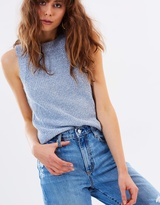 Mng Knitted Ameri Top