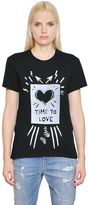 Diesel Time To Love Cotton Jersey T-Shirt