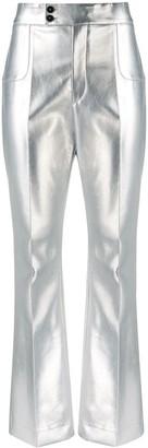 Philosophy di Lorenzo Serafini Metallic-Effect Trousers