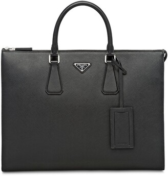 Prada Saffiano leather briefcase