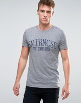 Esprit T-Shirt with San Fran Embroidery