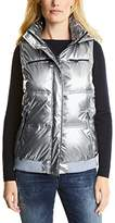 Cecil Women's Metallic Vest Outdoor Gilet