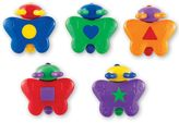 Learning Resources Snap-n-Learn Shape Butterflies by