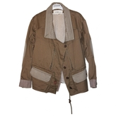 Isabel Marant Khaki Cotton Coat