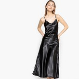 La Redoute Collections Satin Dress with Crossover Straps