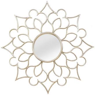 Stratton Home Decor Francesca Wall Mirror, Silver