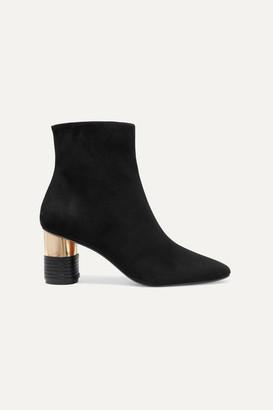 Souliers Martinez Asturias Suede Ankle Boots - Black