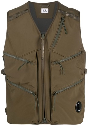 C.P. Company Multi-Pocket Lens Detail Gilet