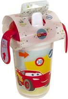 Danawares 30681 Cars Themed Double Wall Sippy Cup with Handles