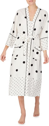 REFINERY29 Connie Print Woven Robe