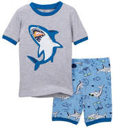Petit Lem Shark Shorts Pajama Set (Toddler & Little Boys)