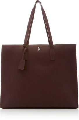 Mark Cross Fitzgerald Leather Tote Bag
