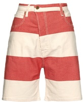 Vivienne Westwood Bliss Bell striped denim shorts