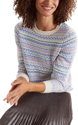 Boden Louise Fair Isle Sweater