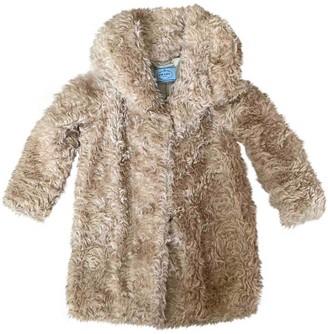 Prada Beige Faux fur Coat for Women