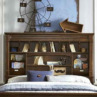 Wendy Bellissimo by LC Kids Big Sur By Wendy Bellissimo Bookcase Headboard Size: Full