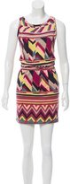 M Missoni Abstract Mini Dress