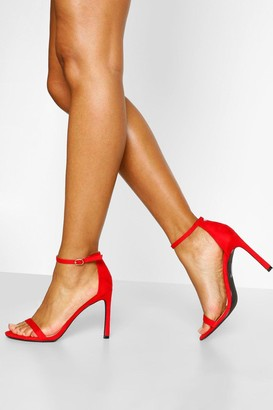 boohoo Barely There Stiletto Heel Two Parts