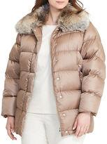 Lauren Ralph Lauren Plus Quilted Down Coat