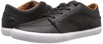 Lacoste Bayliss Vulc Prm (Black/Black) Men's Shoes