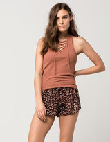 Amuse Society Love Spell Womens Shorts