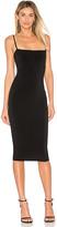 Nookie Charlize Midi Dress in Black