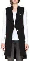 Soia & Kyo Women's Longline Drape Front Vest