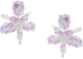 Lele Sadoughi Jewel Flower Earrings