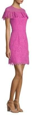 Trina Turk California Dreaming Copper Lace Mini Dress