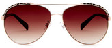 Steve Madden Women&s Aviator Sunglasses