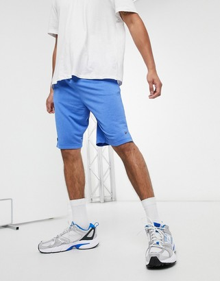 Reebok workout ready performance shorts in humble blue