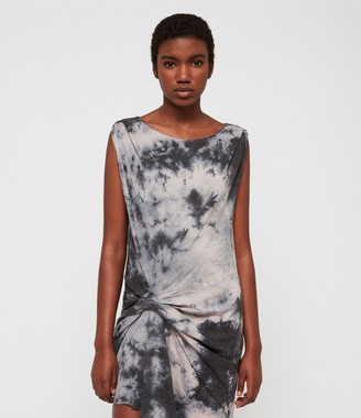 AllSaints Dyetie Riviera Dress