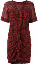 Etoile Isabel Marant Wallace checked dress