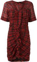 Etoile Isabel Marant Wallace checked dress