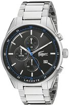 Lacoste Men's 2010788 Dublin Analog Display Japanese Quartz Silver Watch