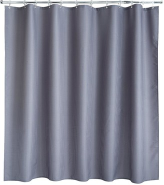 Aqualona Grey Waffle Shower Curtain