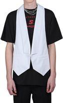 Raf Simons Cotton Vest W/ Open Back