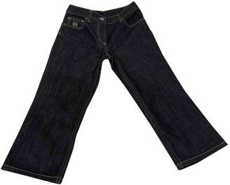 Loewe Blue Cotton Jeans for Women Vintage