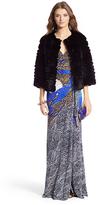Diane von Furstenberg Sonia Silk Jersey Maxi Gown